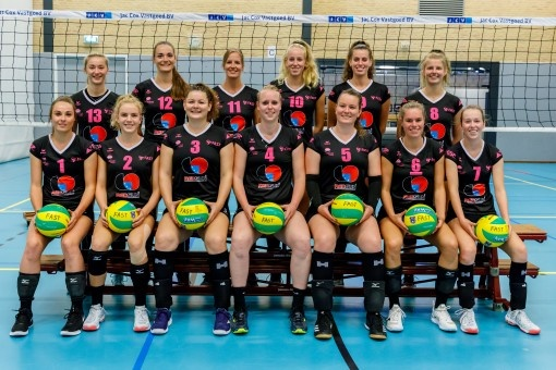 Dames Eredivisie Volleybal: FAST Volleybal kiest voor ERIMA