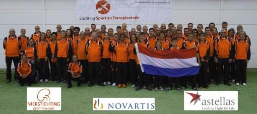 Nederlandse delegatie WTG staat er met ERIMA goed gekleed op.