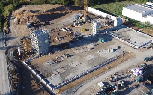 """Een bezoekje aan de bouw: ERIMA """"Home of Teamsport"""" krijgt vorm."""