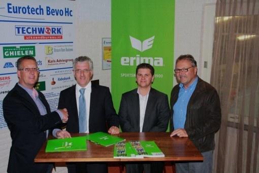 Eurotech Bevo Hc en ERIMA verlengen contract.